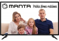Телевизор 40' Manta 40LFA48L LED 1920x1080 50Hz, HDMI, USB, Vesa (400x200)