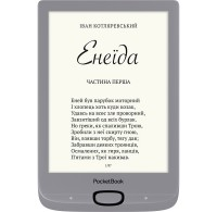 Электронная книга 6' PocketBook 616 Basic Lux 2 Matte Silver (PB616-S-CIS) E-Ink