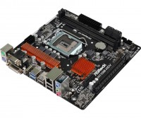 Материнская плата 1151 (H110) AsRock H110M-HDV R3.0, H110, 2xDDR4, Int.Video(CPU