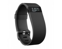 Умные часы Fitbit Charge HR Large, Black, size L, цветной сенсорный экран 1.25',