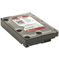 Жесткий диск 3.5' 2Tb Western Digital Red, SATA3, 64Mb, 5400 rpm (WD20EFRX)