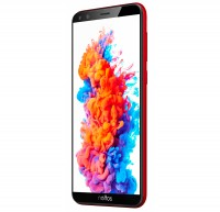 Смартфон Neffos C5 Plus (TP7031A82) Red, 2 Sim, 5.34' (960х480) TN, MT6580M 4х1