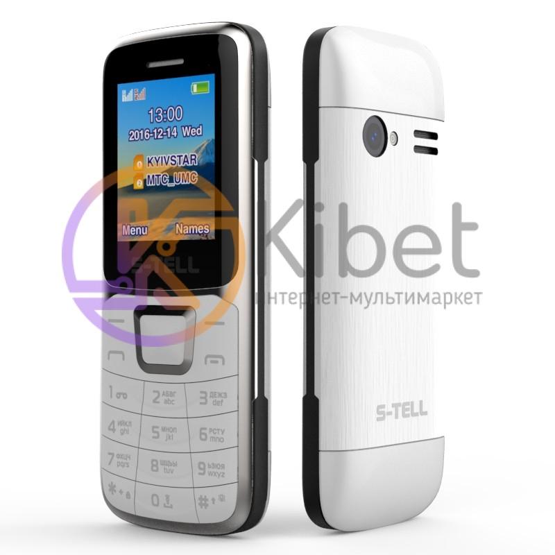 7c3bd907139aa Мобильный телефон S-Tell S1-07 Silver, 2 Sim, 1.8' TFT (160x128), BT ...