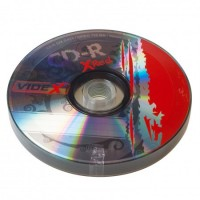 Диск CD-R 10 Videx X-Red, 700Mb, 52x, Bulk Box