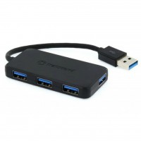 Концентратор USB 3.1 Transcend HUB2, Black, 4 порта USB 3.1 (TS-HUB2K)