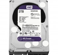 Жесткий диск 3.5' 3Tb Western Digital Purple, SATA3, 64Mb, 5400 rpm (WD30PURZ)