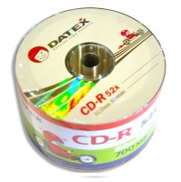 Диск CD-R 50 Datex, 700Mb, 52x, Bulk Box