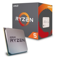 Процессор AMD (AM4) Ryzen 5 2600, Box, 6x3,4 GHz (Turbo Boost 3,9 GHz), L3 16Mb,