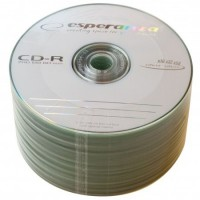 Диск CD-R 50 Esperanza, 700Mb, 52x, Bulk Box