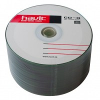 Диск CD-R 50 Havit, 700Mb, 52x, Bulk Box