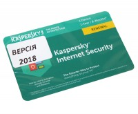 Антивирусная программа Kaspersky Internet Security Multi-Device 2018, 1 Device 1