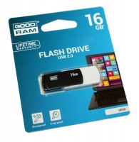 USB Флеш накопитель 16Gb Goodram Colour Mix Black-White UCO2-0160KWR11