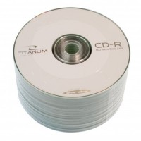 Диск CD-R 50 Titanum, 700Mb, 52x, Bulk Box