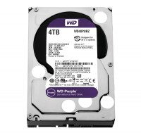 Жесткий диск 3.5' 4Tb Western Digital Purple, SATA3, 64Mb, 5400 rpm (WD40PURZ)