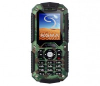 Мобильный телефон Sigma mobile X-treme IT67 Khaki, 2 Sim, 2' (176x220) TFT, micr