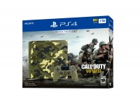 Игровая приставка Sony PlayStation 4, 1000 Gb, Black + Call of Duty: WWII
