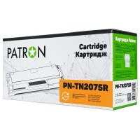 Картридж Brother TN2075, Black, HL-2030 2040 2070N, DCP-7010R 7025R, FAX-2825R 2