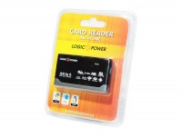 Card Reader внешний LogicFox LF-CR020 All-in-One USB 2.0