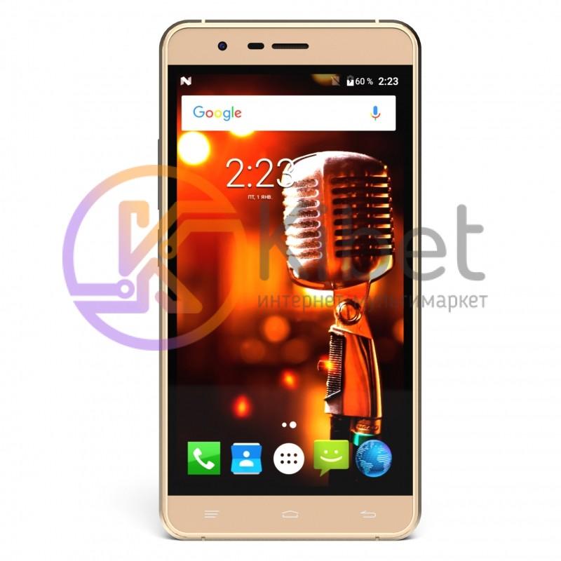 Смартфон S-Tell P750 Gold, 2 Sim, 5' (854x480 ) IPS, Mediatek MTK
