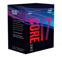 Процессор Intel Core i7 (LGA1151) i7-8700K, Box, 6x3,7 GHz (Turbo Boost 4,7 GHz)