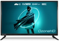 Телевизор 24' OzoneHD 24HQ92T2, LED HD 1366x768 100Hz, DVB-T2, HDMI, USB, Vesa (