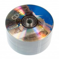 Диск CD-R 50 Videx X-Blue, 700Mb, 52x, Bulk Box